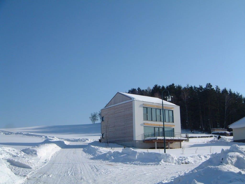 passivhaus in kleinsch nau bm werner gmbh. Black Bedroom Furniture Sets. Home Design Ideas