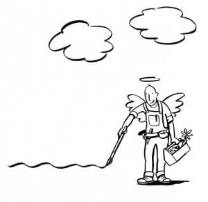 Handwerker Engel