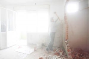 Umbauten im bewohnten Haus