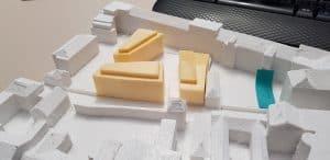 Baumassenmodell-3D-Druck